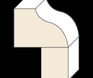 Laminated-Ogee-Flat