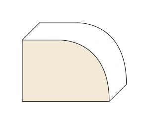 Demi-Bullnose